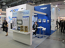 Roger at Poznań Securex 2016 fair