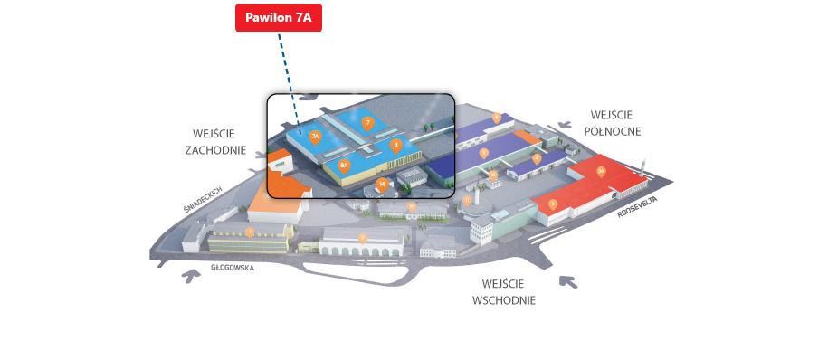 Targi Securex 2018 w Poznaniu - Plan