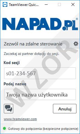 TeamWiewer NAPAD.PL