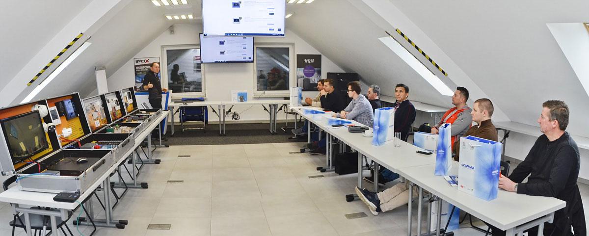 Szkolenie w NAPAD.PL - Wideodomofony Commax