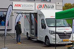 Pokaz Hikvision Show room truck Show w Napadzie