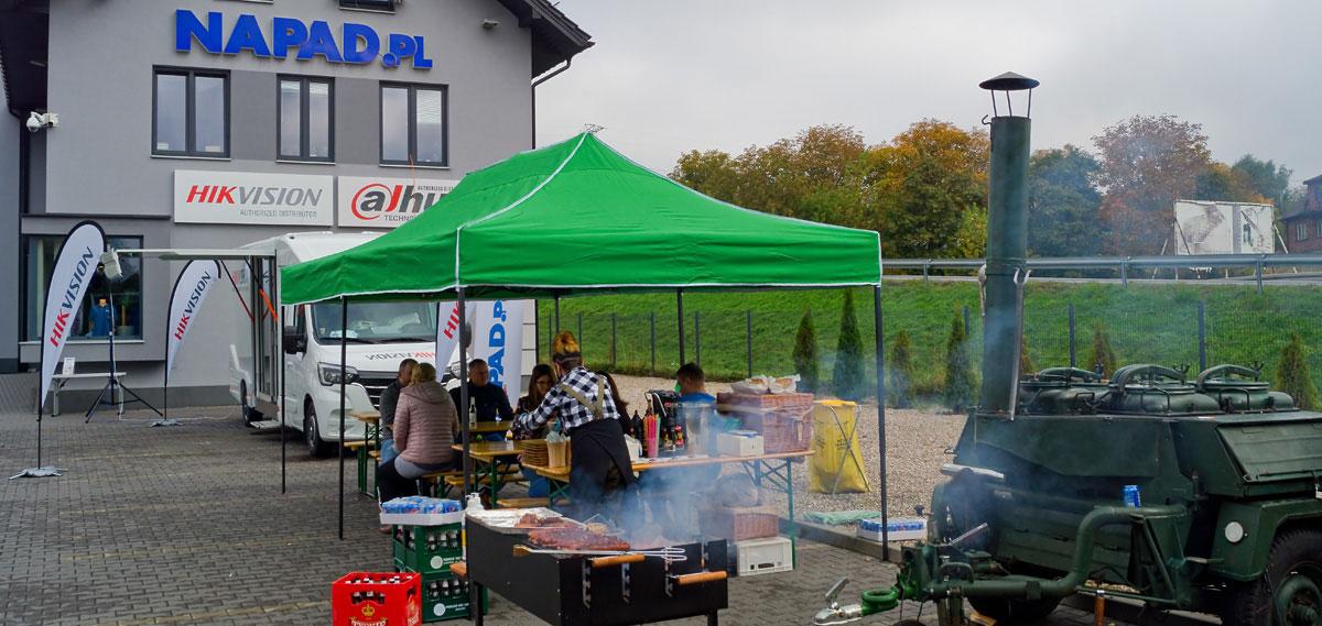 Szkolenie Hikvision - Mini-truckshow - 08.10.2020 - NAPAD.PL