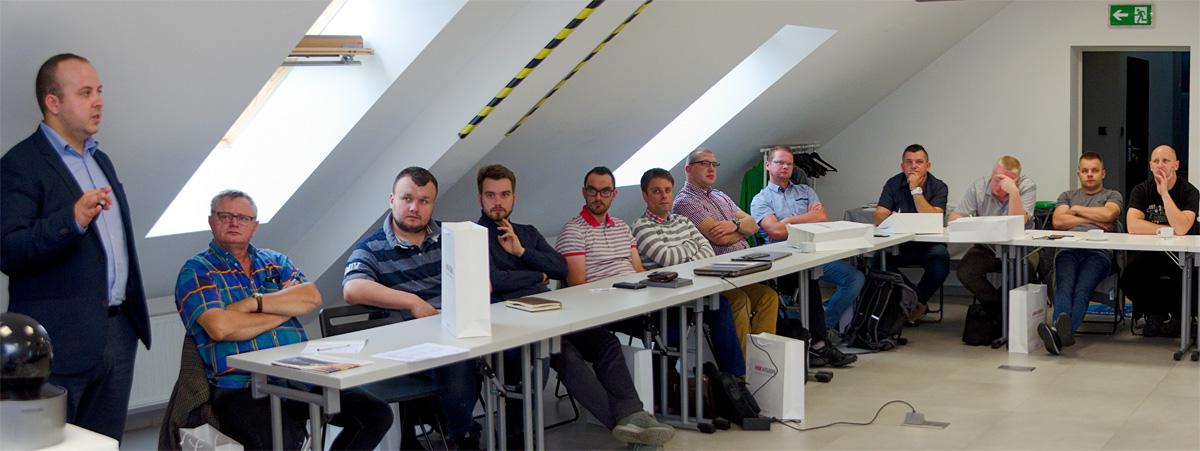 Warsztaty dla instalatorów - Monitoring IP Hikvision