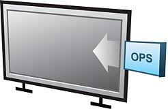 Gniazdo OPS w monitorach LCD Philips