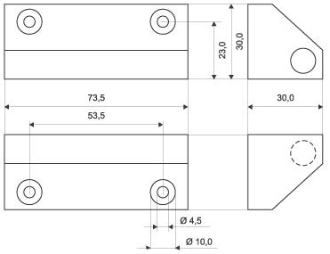 Wymiary kontraktronu MC 270-S78