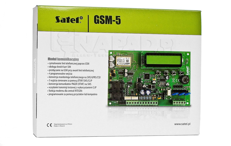 Opakowanie na moduł komunikacyjny GSM-5