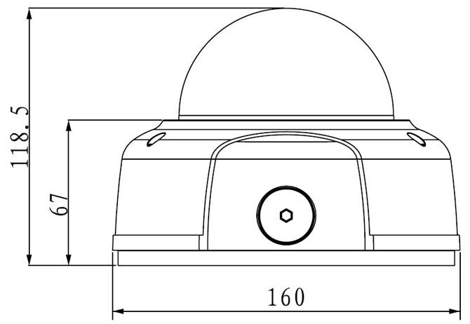 wymiary IPC HDBW3110P