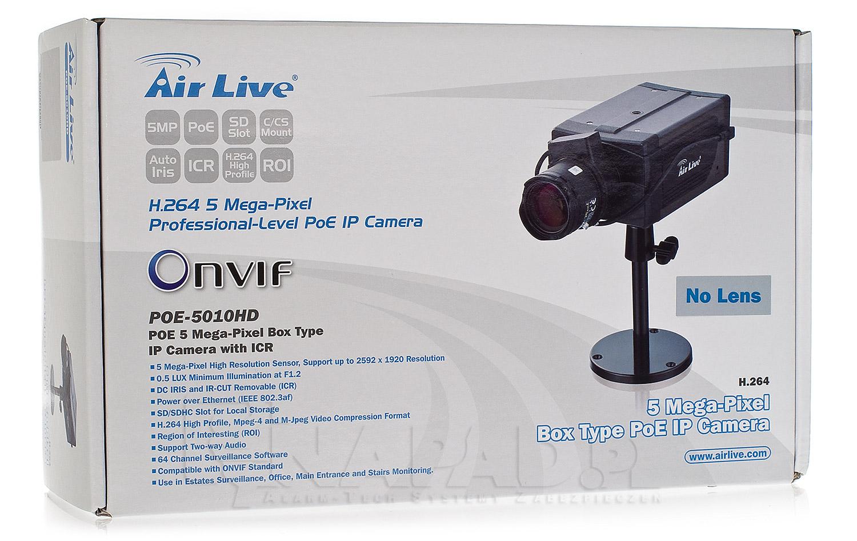 Pudełko na kamerę POE-5010HD