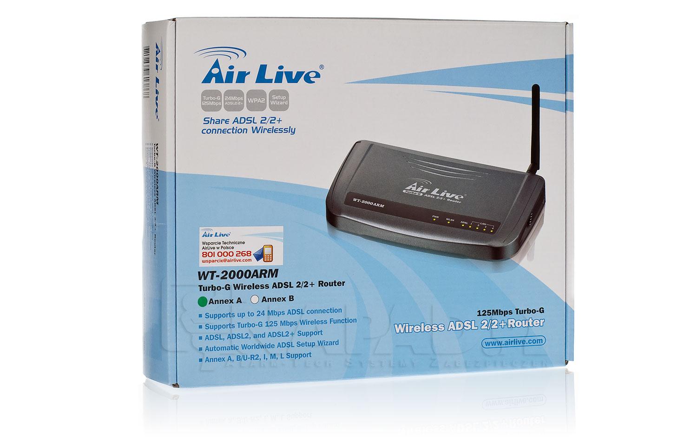 Air Live WT-2000ARM B Driver for Windows 7