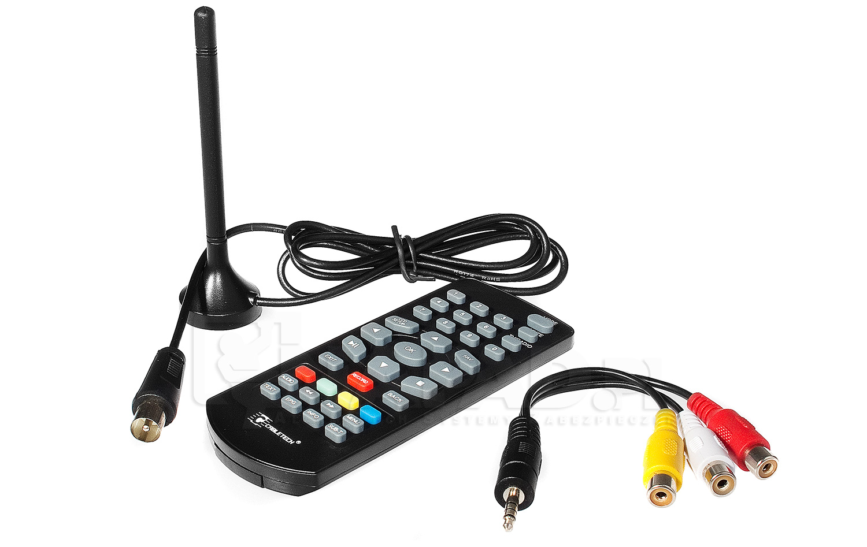 Akcesoria telewizora przenośnego 9'' URZ189 z tunerem DVB-T