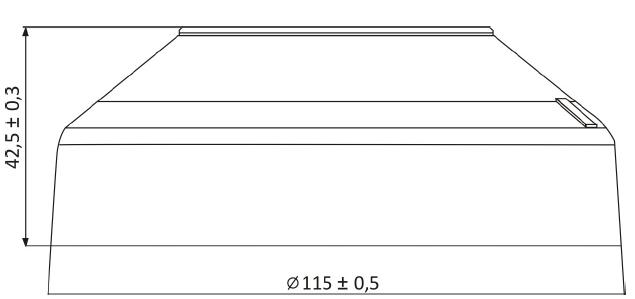 Wymiary ADC-4001M