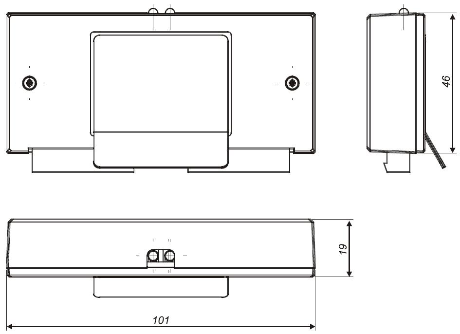 Konstrukcja, wymiary EKS-4001