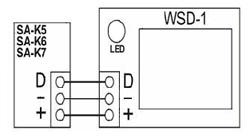 Schemat połączeń WSD-1