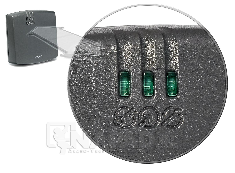 Diody LED kontrolera dostępu Roger PR622