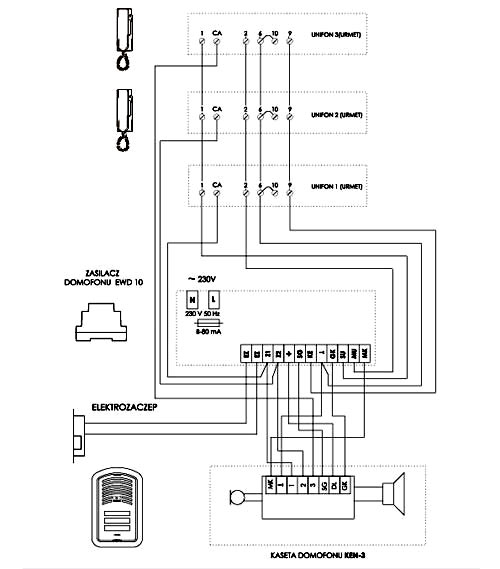 Kaseta Domofonu Zewnętrzna Ken3 Kasety Zewnętrzne W Napad Pl